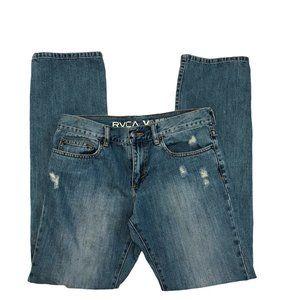 RVCA Jeans Loose Fit Cotton size 28
